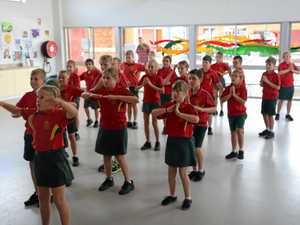 Year 6s put on dance shoes while Year 12s say goodbye