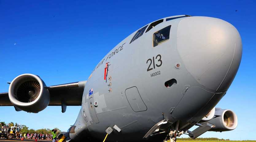 A Boeing C-17 Globemaster might be on display at the open day.