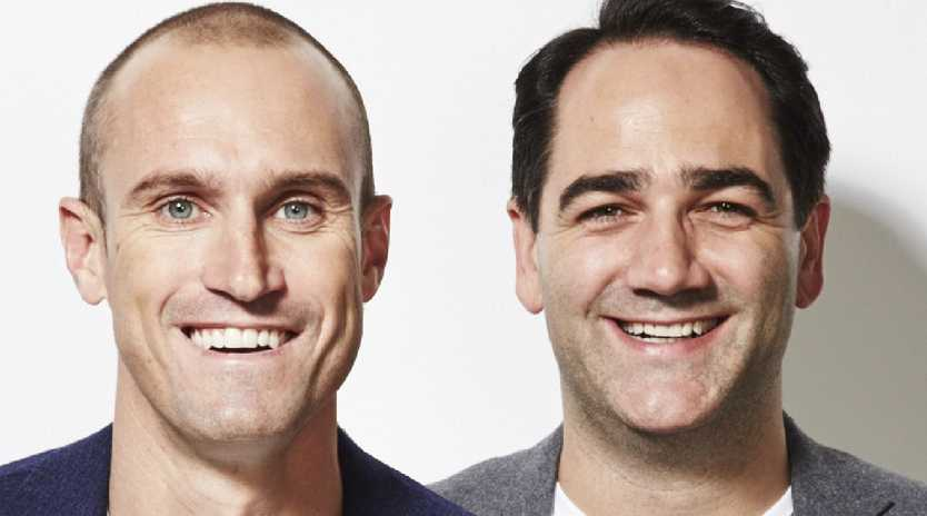 Nova radio hosts Fitzy and Wippa will lend their voices to Wonder Park, a new animated movie.