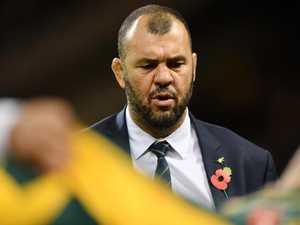Wallabies coach Cheika safe until World Cup: Castle