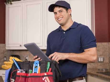 Plumbers are among the tradies forecast for job growth. Picture: iStock