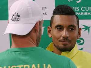 Kyrgios praised for seeking help to deal with mental demons