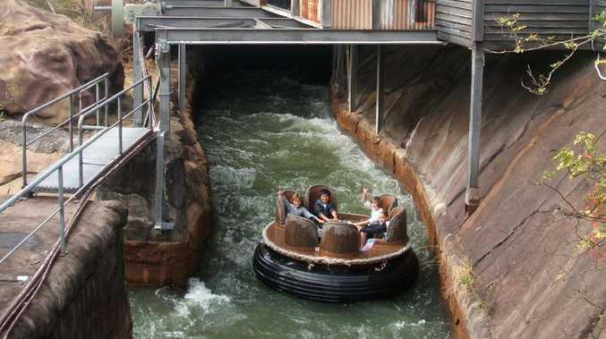 Undated: the Dreamworld Thunder River Rapids Ride