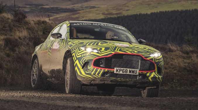 Aston Martin DBX prototype.