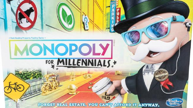 Hasbro's new Monopoly For Millennials.