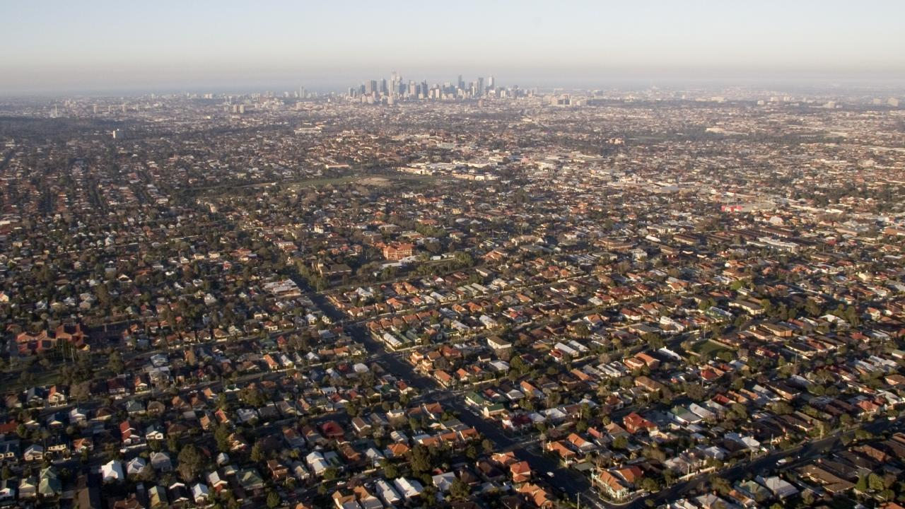 Dwelling values fell 4.7 per cent in Melbourne this year.