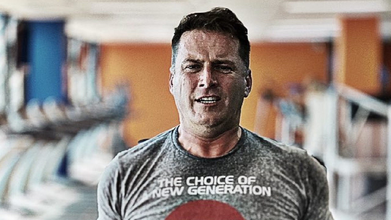 Karl Stefanovic has gotten candid about his bid to stay fit in an Instagram post