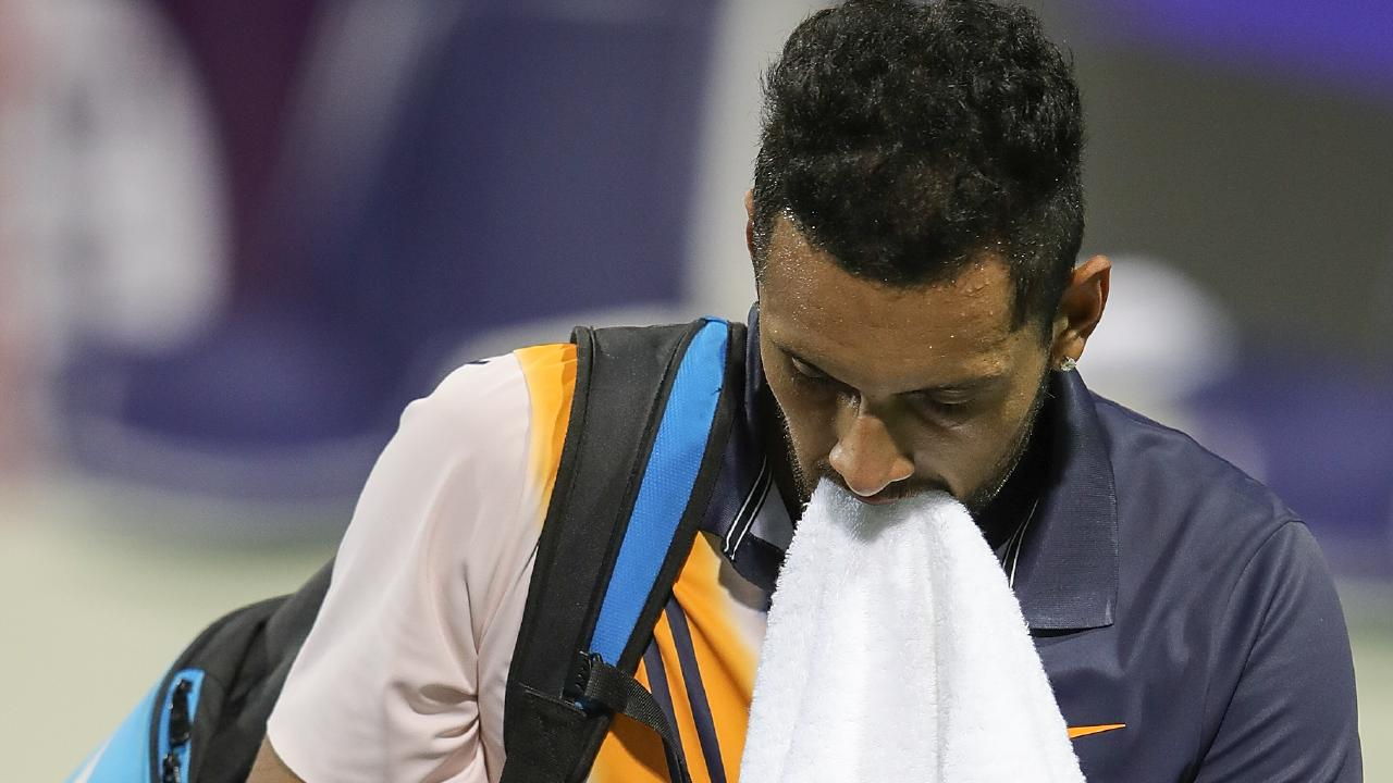 Nick Kyrgios has endured a troubled year in 2018.