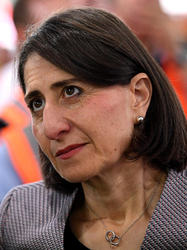 NSW Premier Gladys Berejiklian has called for the immigration intake in NSW to be halved. Picture: AAP Image/Danny Casey