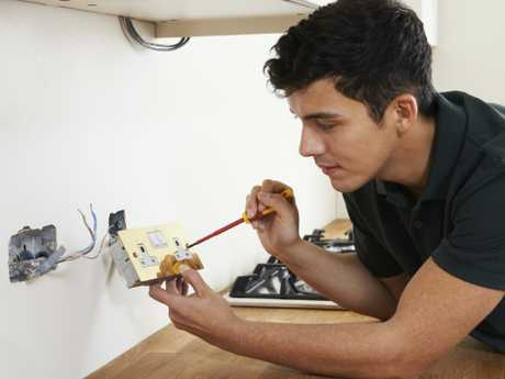 It's a good time to become an electrician as employers struggle to fill roles. Picture: iStock