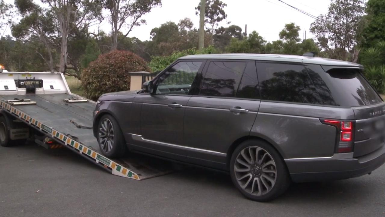 The Australian Federal Police Operation Balandin seized more than $8 million in jewellery, vehicles and properties across three states. Pictures: AFP