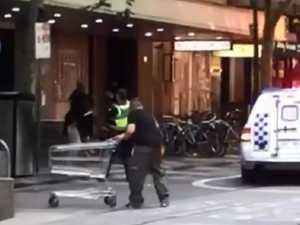 Police hunting 'Trolley Man' hero