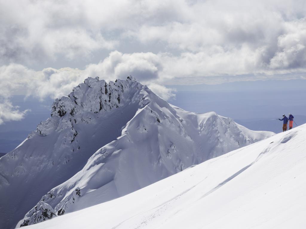 Whakapapa ski area at Mt Ruapehu.