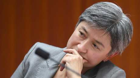 Smaller states like South Australia, which Penny Wong currently represents, have the same number of senators as larger states like New South Wales and Queensland. Picture: AAP/Lukas Coch