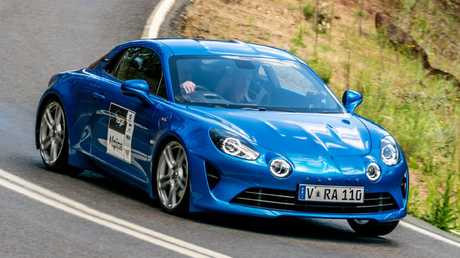 A 1.8-litre turbo engine is all that the Alpine needs to be fun.