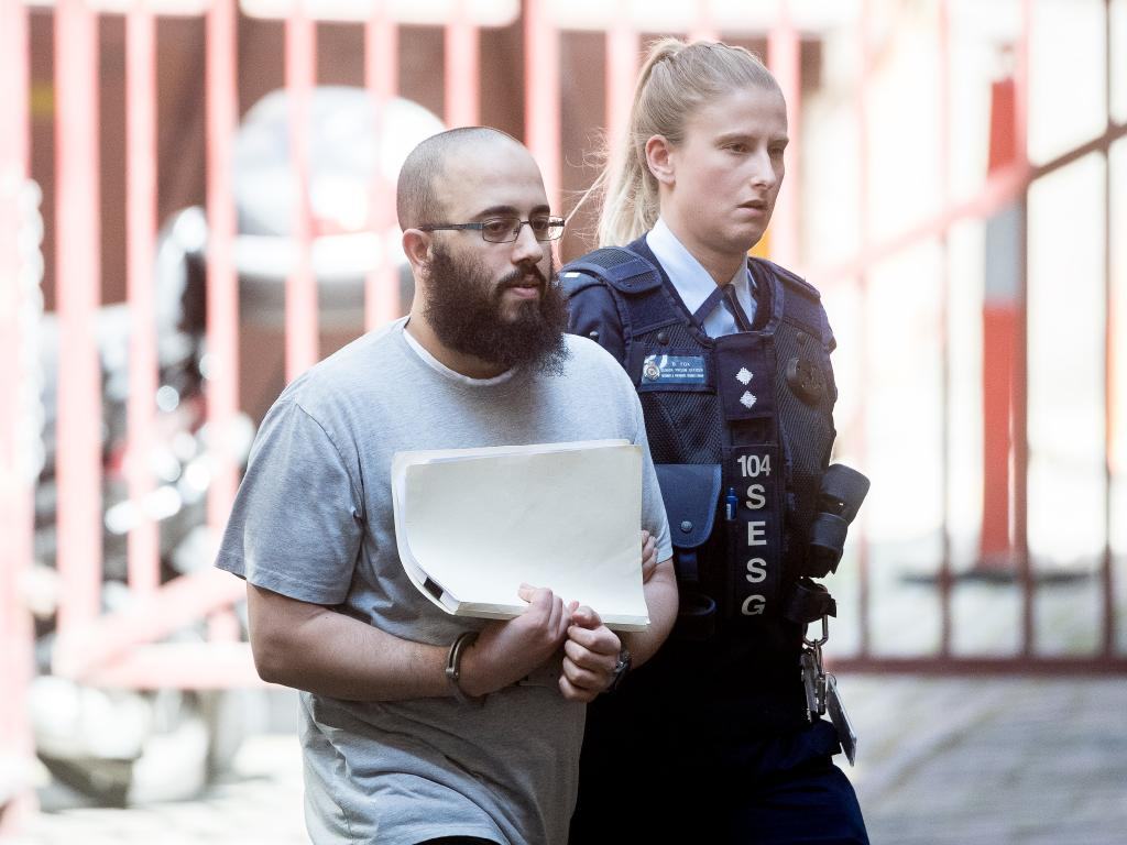Ibrahim Abbas pleaded guilty to being involved in the planning of the attack earlier this year. Picture: Jake Nowakowski