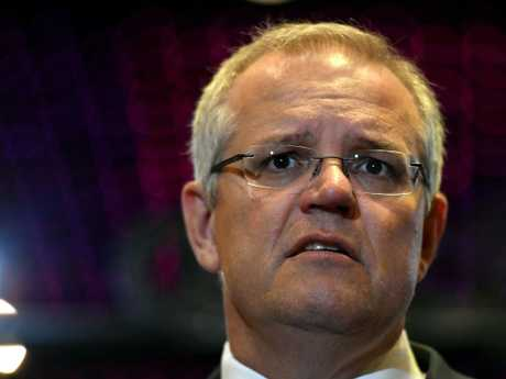 Scott Morrison has raised the possibility of moving Australia's embassy in Israel from Tel Aviv to Jerusalem. Picture: AAP