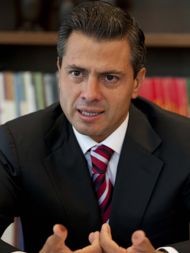 Former Mexican president Enrique Pena Nieto.  Picture:  Supplied