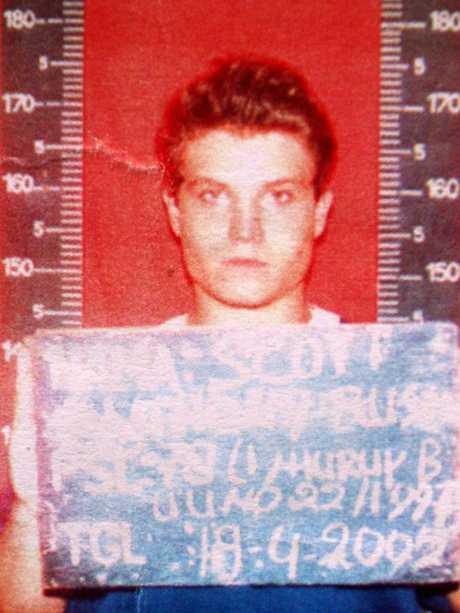 Scott Rush (above) has struggled in prison.