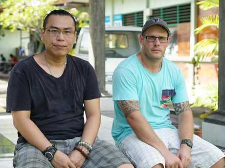 Bali Nine lifers Si Yi Chen and Matthew Norman in Kerobokan jail where they fear they will die. Picture: Phil Hemingway/Foreign Correspondent.