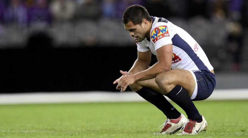 Karmichael Hunt struggled emotionally in his Broncos years.