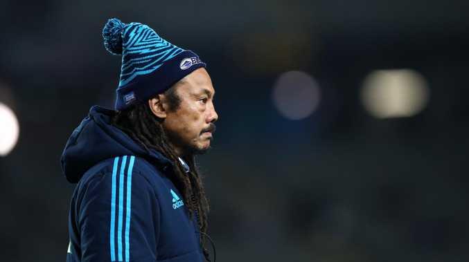 Shake-up: Umaga demoted as Blues Super Rugby coach