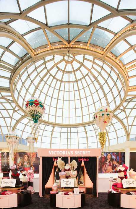 The first-look at Victoria's Secret's pop-up store at Chadstone Shopping Centre. The retailer will unveil its full-scale store on November 29. Picture: Supplied