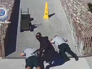 Chilling video of brazen gunpoint heist