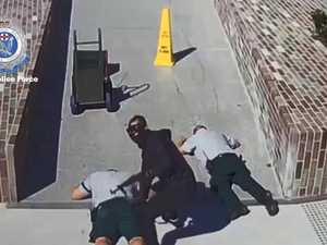 Chilling video of brazen gunpoint heist