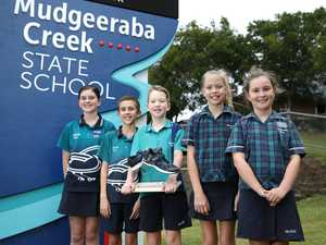 Mudgeeraba Creek State School Science students, Joey