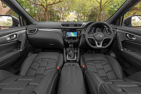 Packed with the latest safety kit and with high-end Nappa leather covered seats, the Nissan Qashqai Ti starts from $37,990 plus on-roads.