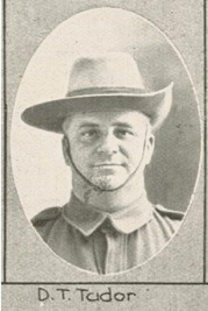 Private Daniel Tudor.