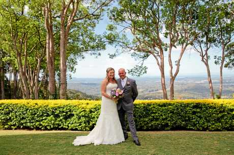 CONGRATS: Charmaine Woodison has married Michael Brooker.