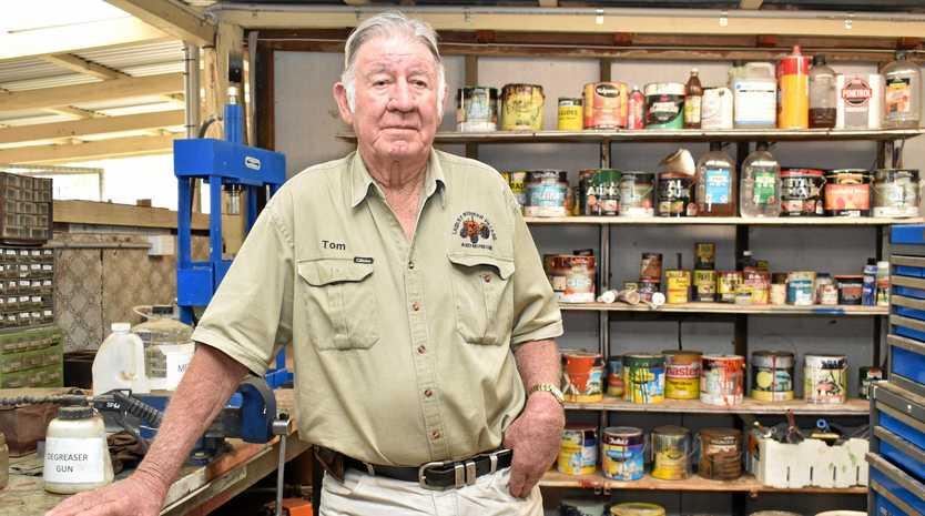 DEVASTATED: Laidley Pioneer Village and Museum president Tom Mulcahy.