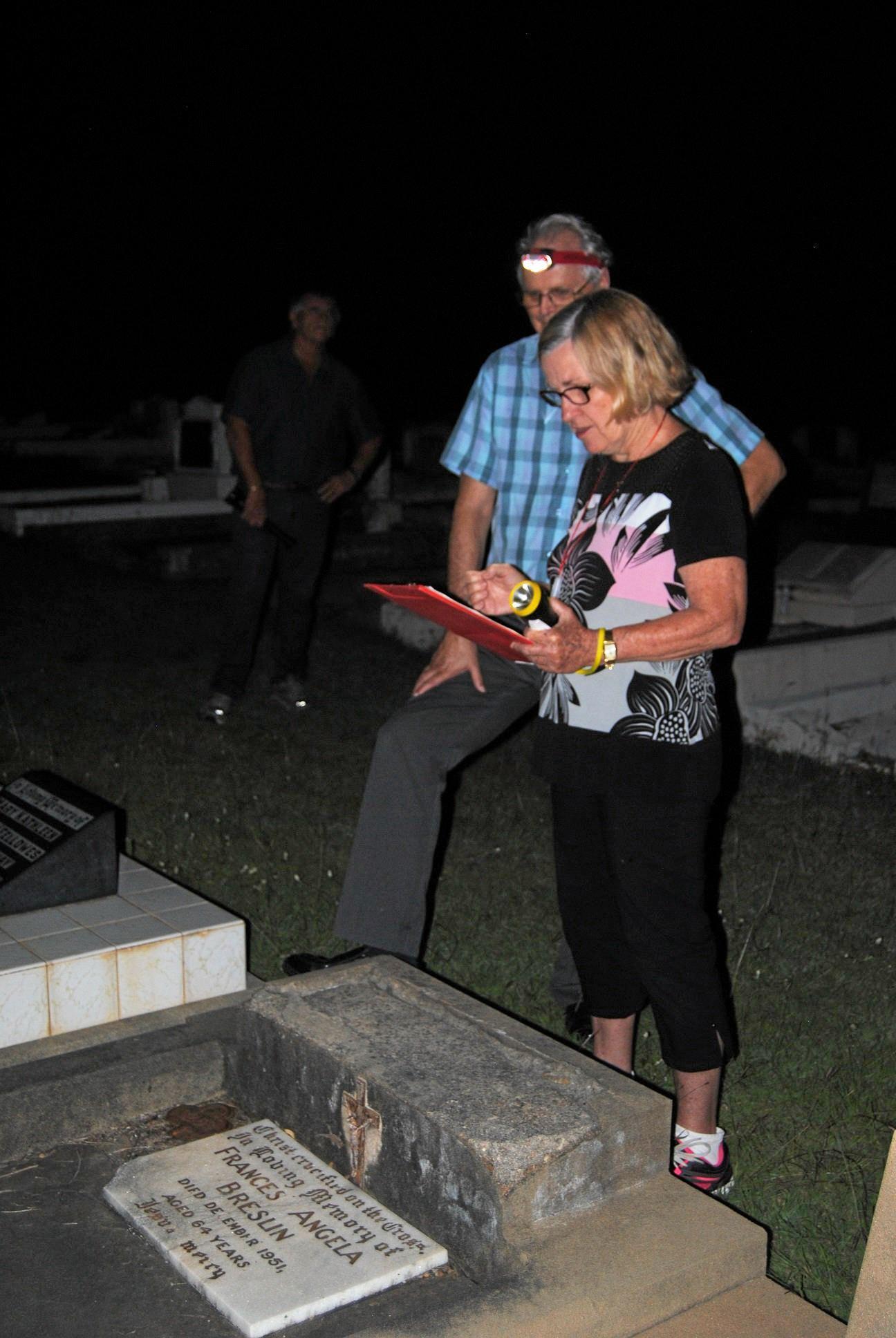 GRAVE MATTERS: Paulette Flint outlines the long history of the Breslin family.