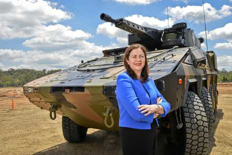 Premier of Queensland Annastacia Palaszczuk  opened the construction of the Rheinmetall Military Vehicle Centre at Redbank.