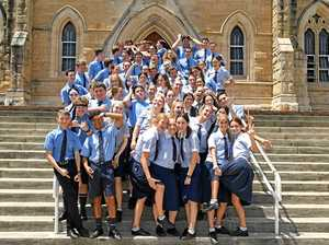 Gympie grads say goodbye to school and head for Schoolies