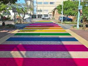 'No-one has a positive comment' about rainbow crossing