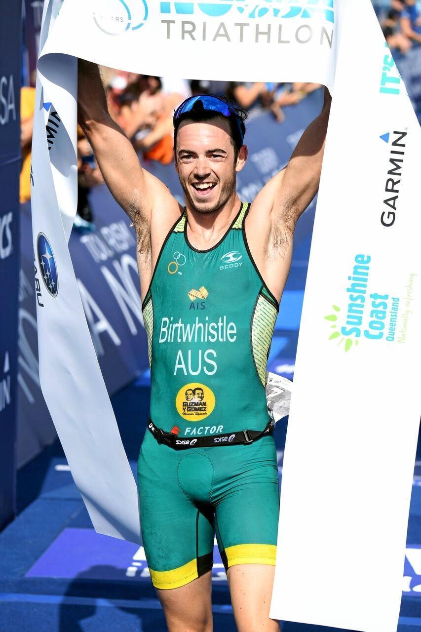 Bronze Award winner Noosa Triathlon Multi Sport FestivalFestivals and Events2017  Noosa Triathlon Male Winner.