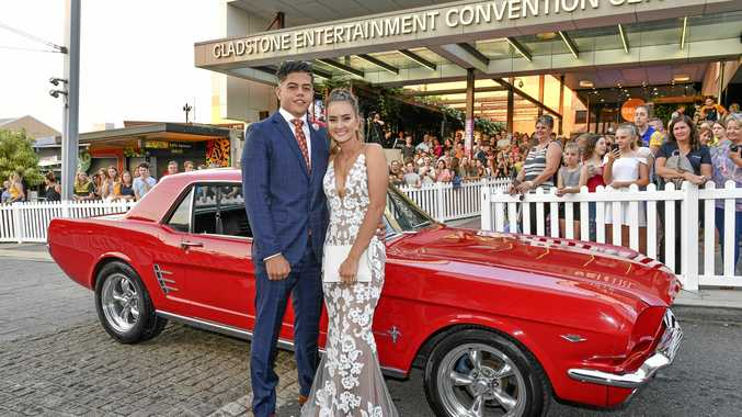 School formals underway across Gladstone