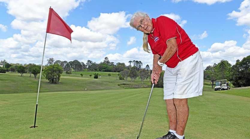 DOUBLE: Jeanne Price, 87 years old, sank her second hole-in-one.
