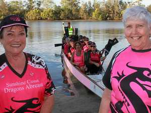 Pink Sea Serpents devour life after breast cancer