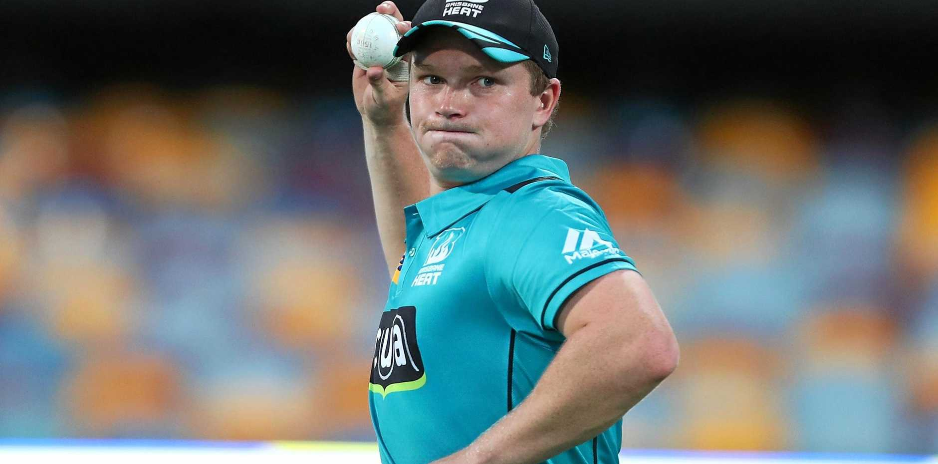 READY TO GO: Max Bryant is preparing for the Brisbane Heat Big Bash League.