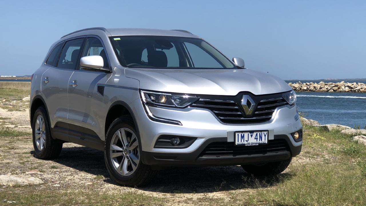 Renault Koleos Life base model $29,990 drive-away. Picture: Joshua Dowling.