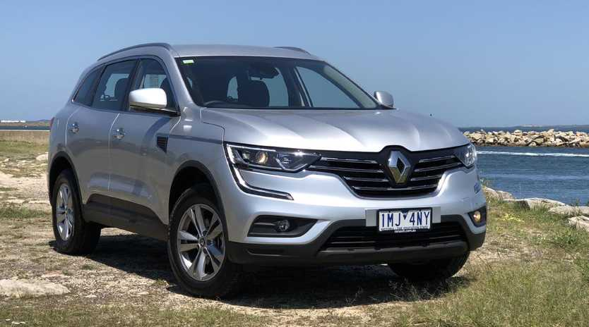 Renault Koleos Life base model $29,990 drive-away. Picture: Joshua Dowling.