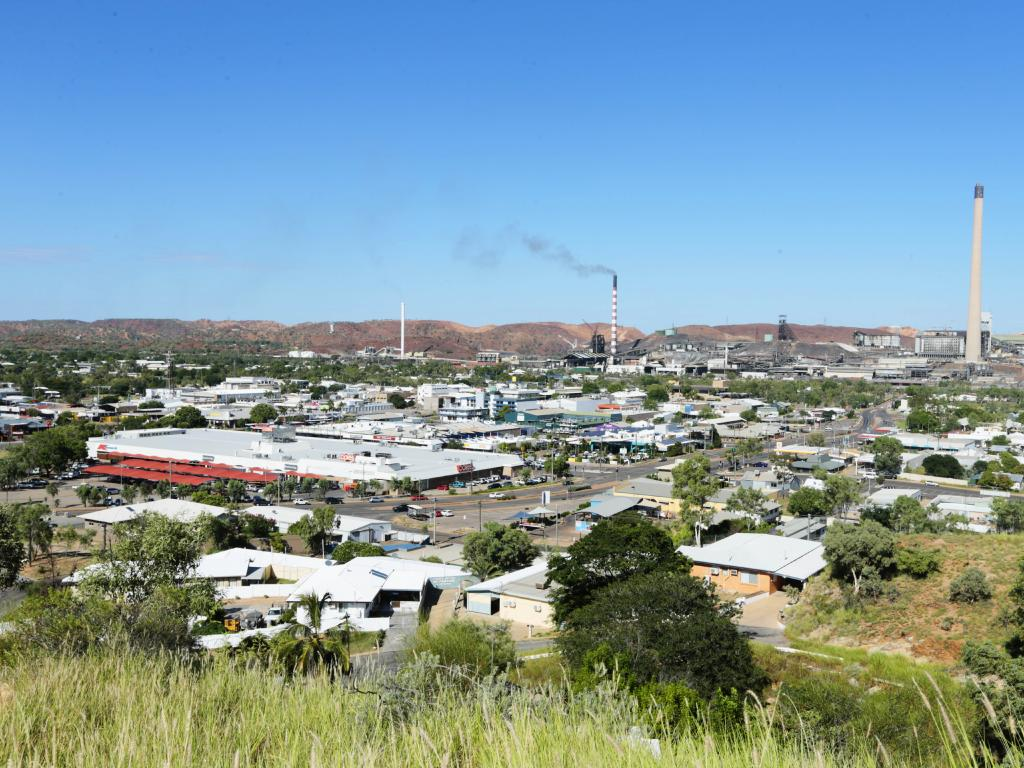 Mt Isa is the most polluted place in Australia. Picture: Lachie Millard