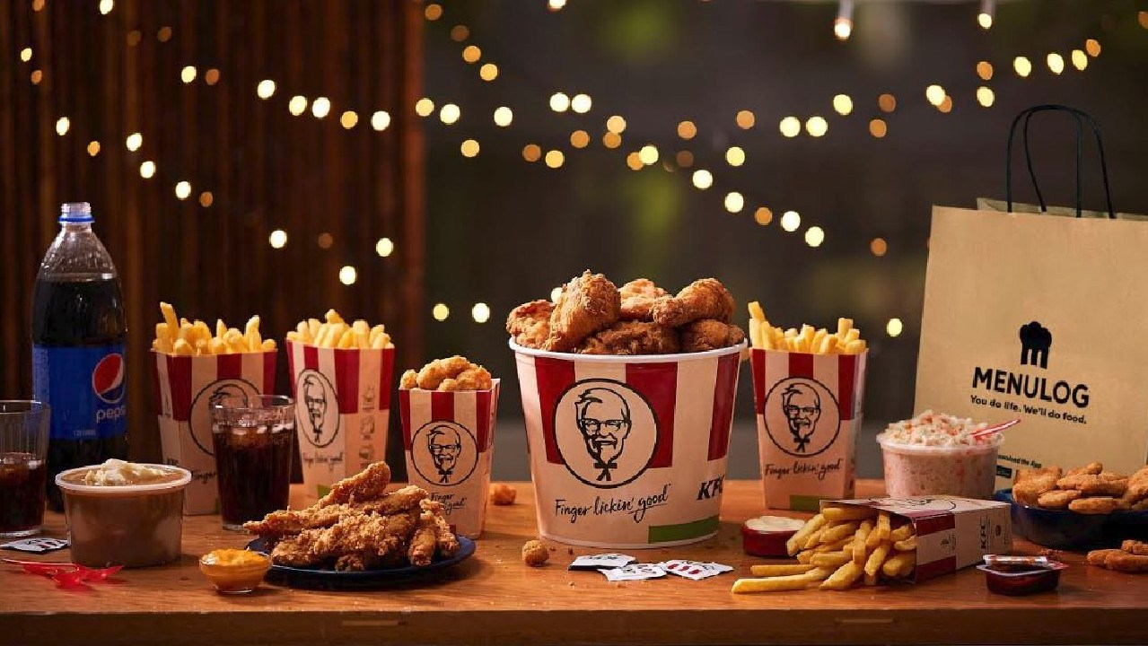 KFC has a new partnership with Menulog. Picture: Supplied