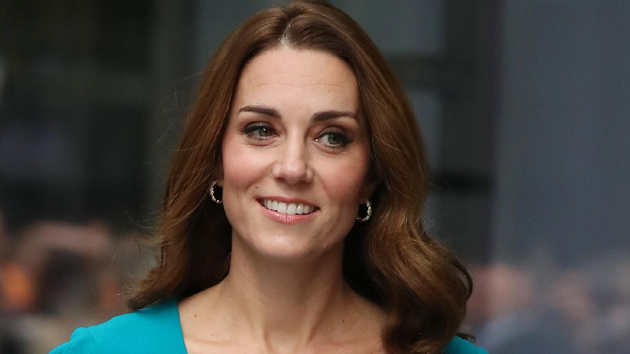 Catherine, Duchess of Cambridge, at BBC Broadcasting House. Picture: Getty