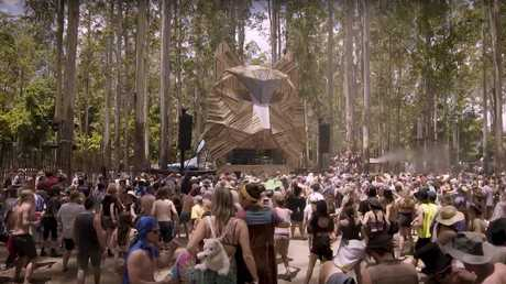 The three-day festival is to be held deep in remote bushland with around the clock musical performances.