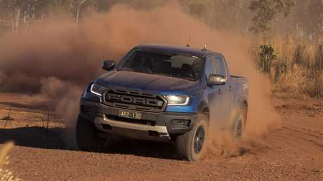 The Ranger Raptor has had some serious off-road upgrades